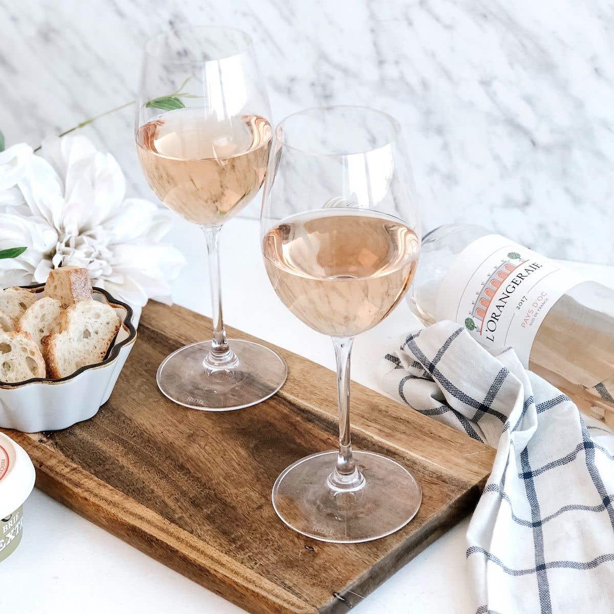 Marques de verre à vin