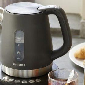 bouilloire Philips - gris