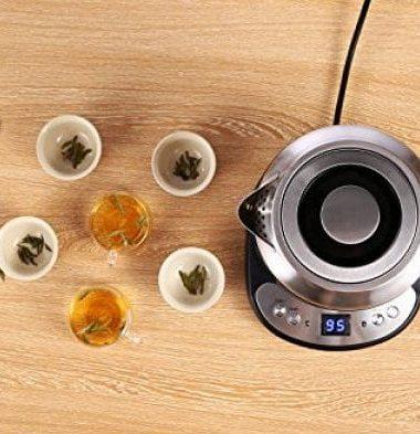 Bouilloire sans BPA - différents thé