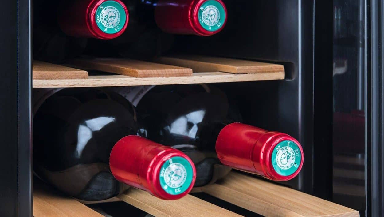 Cave à vin 6 bouteilles