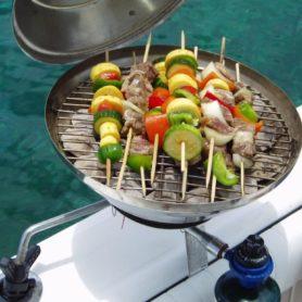 barbecue de bateau