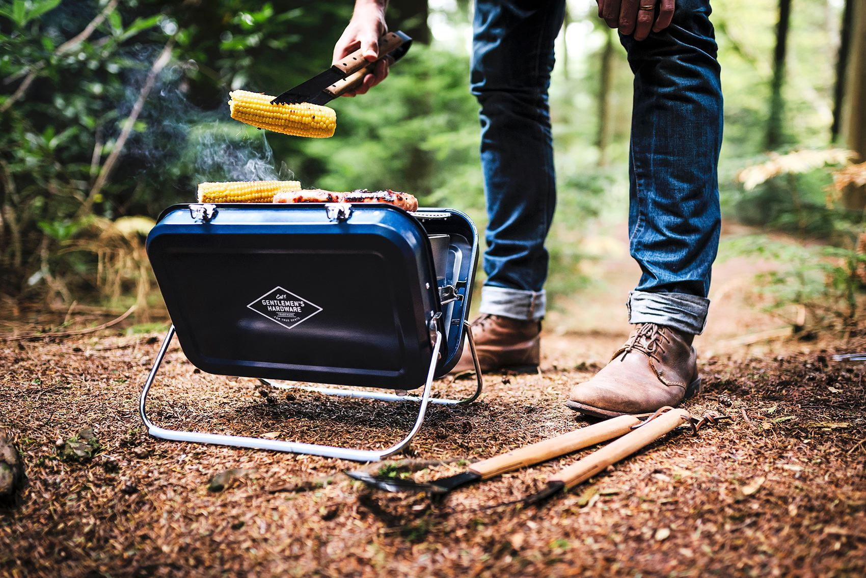 barbecue de camping