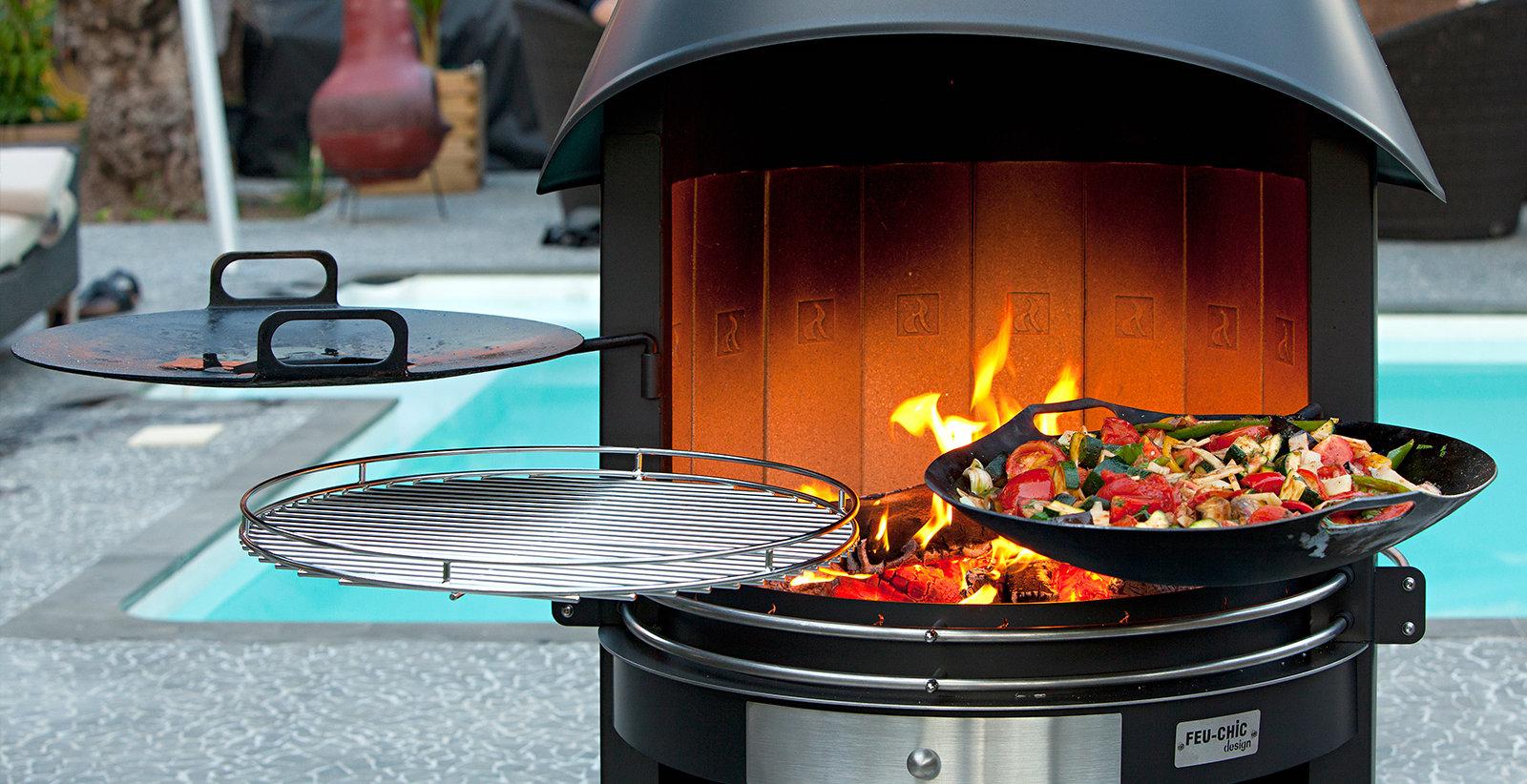 barbecue d'extérieur