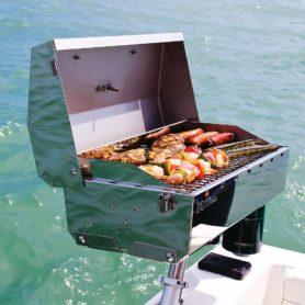Barbecue pour ponton de bateau
