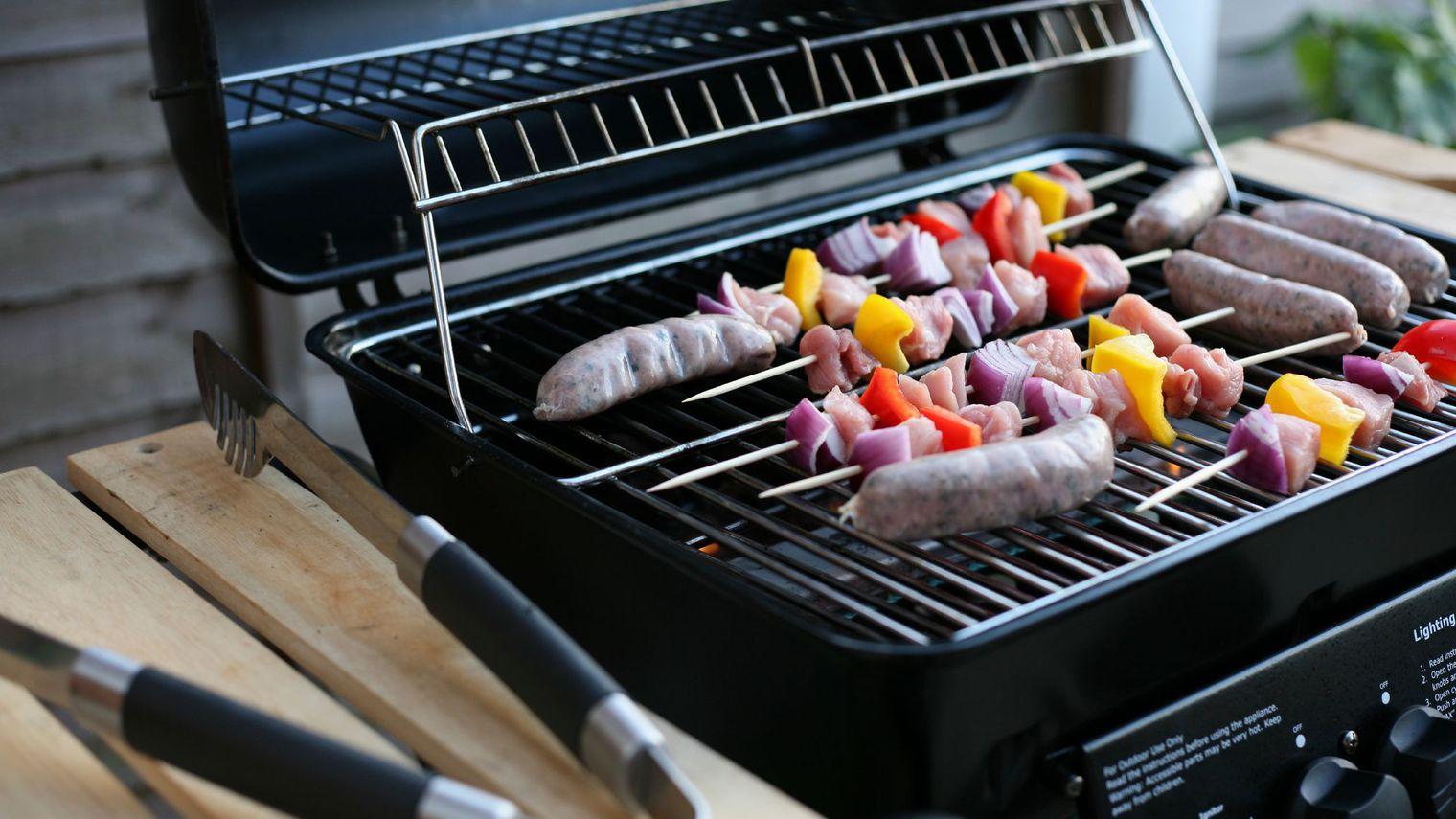 petit barbecue à gaz