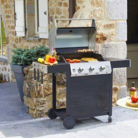 barbecues à gaz à 3 brûleurs