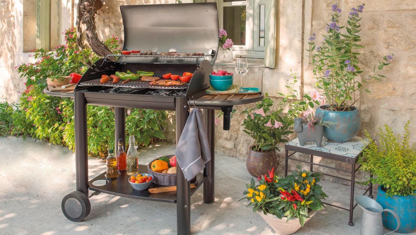 barbecue à charbon de bois de moins de 500 €