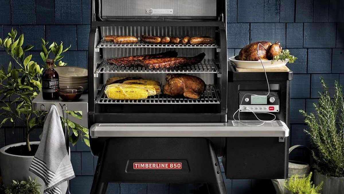 barbecue Traeger