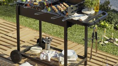 barbecue au charbon de bois à moins de 300 €